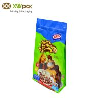 Wholesale Side Gusset Square Flat Bottom Bag Aluminium Foil Food Grade Plastic Ziplock from china suppliers