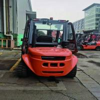 Buy cheap 600mm Load Center Pneumatic Tire 3T Diesel Forklift Truck from wholesalers