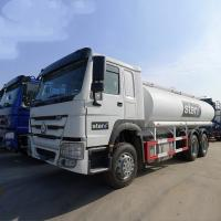 Buy cheap White HOWO 20000L 6×4 Oil Tanker Truck Diesel Fuel Type Manual Transmission from wholesalers