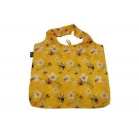 Buy cheap Ripstop Polyester Nylon Folding Foldable Shopping Tote Bag Waterproof With Full Printing from wholesalers