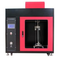 Buy cheap Automotive Interior Material Vertical Combustion Tester with PLC + Touch Screen Control from wholesalers