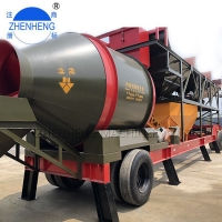 Buy cheap 75m3/H Automatic Small Mobile Ready Mix Concrete Plant Weigh Hopper from wholesalers
