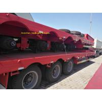 Buy cheap 3 Axles Double Function Container Semi Trailer , Utility Semi Trailers Heavy Duty Semi Trailers from wholesalers
