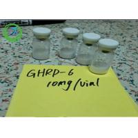 Buy cheap Pharmaceutical 98% min Peptides Ghrp-6 5mg/vial 10mg/vial CAS 87616-84-0 from wholesalers