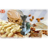 Wholesale High effiency almond butter making machine for sale in factory price manufacturer from china suppliers