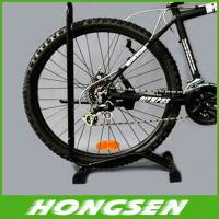 Buy cheap Site type bicycle balance storage rack wheel display stand from wholesalers