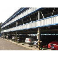Buy cheap 2-6 Floors Multi-Level Parking System Design Steel Structure for Car Parking from wholesalers