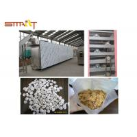 Buy cheap Breakfast Cereal / Corn Flakes Two Screw Extruder , SS Food Grade Extruder from wholesalers