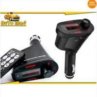 Buy cheap Free Shipping Wireless Car cigarette Mp3 FM Modulator Transmitter USB SD Music Player + Remote from wholesalers