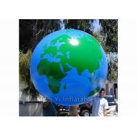 Buy cheap Helium PVC Air Tight Earth Balloon Advertising Inflatable Sphere Ball product