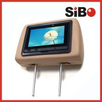 Buy cheap 7 Inch Rear Seat Headrest Monitor Taxi Advertising Touch Screen With 3G from wholesalers