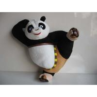 Cute Kungfu Panda Kick Pose Cartoon Stuffed Toys For Collection Manufactures