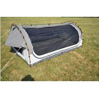 Buy cheap Fire Prevention 2 Person Swag Tent , Canvas Camping Swag Tent Sun Shelter from wholesalers