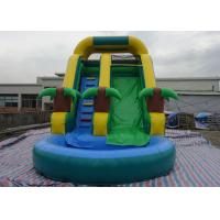 Buy cheap Amusement Inflatable Water Slide PVC Tarpaulin For Kids Fun Inflatable Water Park For Kids from wholesalers