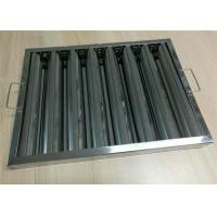 Buy cheap Stylish Kitchen Chimney Baffle Filter Standard Size With Ventilation System from wholesalers