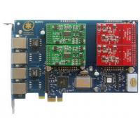 Wholesale AEX410 4Port Asterisk Card with 2FXO&2FXS PCI Express Card from china suppliers