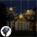 Buy cheap 160LED Solar Powered Garden Lamps DIY Fireworks Solar String lights For Garden Decoration from wholesalers