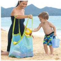Buy cheap promotional Clothes Toys Carry All Sand Away Beach Bag Mesh Tote Bag from wholesalers