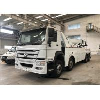 Buy cheap 240kw Rated Power Road Wrecker Truck Engine Emission 9726ml Diesel Tank from wholesalers