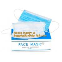 Buy cheap Non-woven Medical Surgical Mouth Face Mask,Surgical Printed Medical Nonwoven Disposable Face Mask With Ear Loops bagease from wholesalers