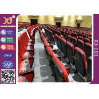 Buy cheap Lumbar Support Wear Resistance Fabric Theatre Seating Chairs With 5 Years Warranty from wholesalers