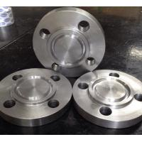 Buy cheap Loose Stainless Steel Flanges Precision Machinery Finished Orifice Plate Type Device from wholesalers