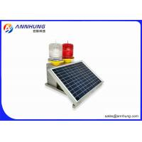 Buy cheap Tower Crane Solar Powered Aviation Light With SUS304 Stainless Steel Case from wholesalers