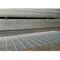 Wholesale Hot Dip Galvanized Serrated Steel Grating For Anti Slip Bridge Decking from china suppliers
