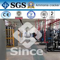 Buy cheap Automatic Ammonia Cracker for Hydrogen Generation , 5-1000Nm3/h Capacity from wholesalers