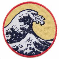 Buy cheap Woven Embroidery Designs Patches For Clothing Shirt , Cool Velcro Patches from wholesalers