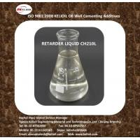 Buy cheap Manufacturer of Cement Retarder Moderate Temperature Type CH210L from wholesalers