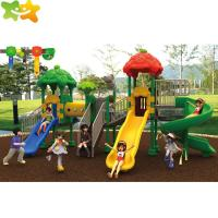Buy cheap Safe And Durable Plastic Playground Equipment Outdoor Kids Backyard Slide from wholesalers