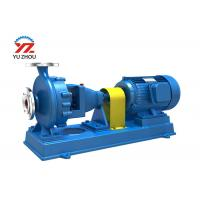Buy cheap Single Suction Chemical Transfer Pump IH Series Single Stage High Mechanical Level from wholesalers
