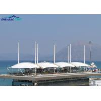 Buy cheap Light Weight PVDF Architecture Tensile Membrane Structures For Event CE ROHS FCC SGS from wholesalers