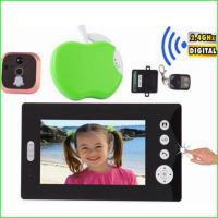 """Buy cheap 7"""" TFT-LCD wireless digital colour motion detection video door phone with viewer camera from wholesalers"""