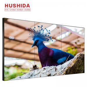 China 3x3 LCD Video Wall Digital Display Screen 3.5mm Ultra Narrow Bezel Seamless on sale