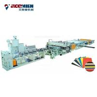 Buy cheap Corflute Correx Sheet Plate Extrusion Line PP PE PC Hollow Board Automatic from wholesalers