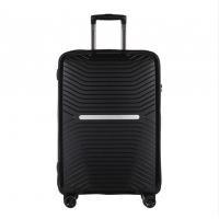 Wholesale Lightweight Black PP 3pieces Business Travel Suitcase from china suppliers