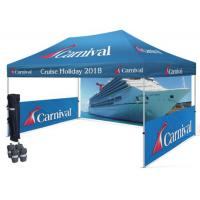 Buy cheap Waterproof Trade Show Tent Ez Up Canopy Durable Outdoor Display Tents 3Mx6M / 4Mx8M / 5Mx10M from wholesalers