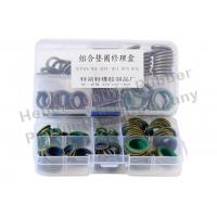 China 4 6 Cylinder Head Gasket Exhaust Manifold Seal Pad Metal Material on sale