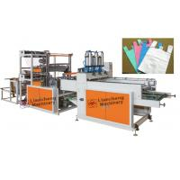 Model LC-BS 800x4 cold cutting bag machine  with auto T-shirt puncher Manufactures