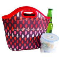 Wholesale Waterproof Neoprene Shopping Bag , Lightweight Soft Neoprene Insulated Tote from china suppliers