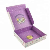 Wholesale Elegant Corrugated Cardboard Boxes Full Color Printing OEM Service from china suppliers