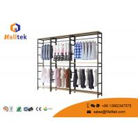 China Customized Clothing Garment Rack Commercial Grade Retail Store Garment Racks on sale