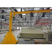 Buy cheap 0.5 Tons Electric Jib Crane Alloy Steel Movable Raising Efficiency Function from wholesalers