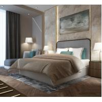 Wholesale Dubai Luxury Hotel Style Bedroom Furniture Modern Design Metal Frame from china suppliers
