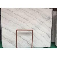 Natural GX White Marble Stone Slab House Wall Cladding Decoration Use