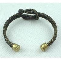 Buy cheap Bronze ox Color Unisex Copper Alloy Jewelry Yiwu Market Bronze Cuff Link Bracelet from wholesalers