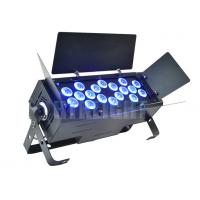 Buy cheap 18 X 18 Watt RGBWA + UV 6 In1 LED Party Lights / Professional Stage Lighting from wholesalers