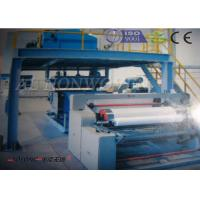 SMS PP Non Woven Fabric Making Machine customized Width For Operation Tablecloth